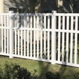Gainesville white fence best fence company