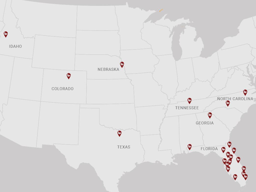 fence company locations