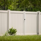 Vinyl Private Fence and Gate