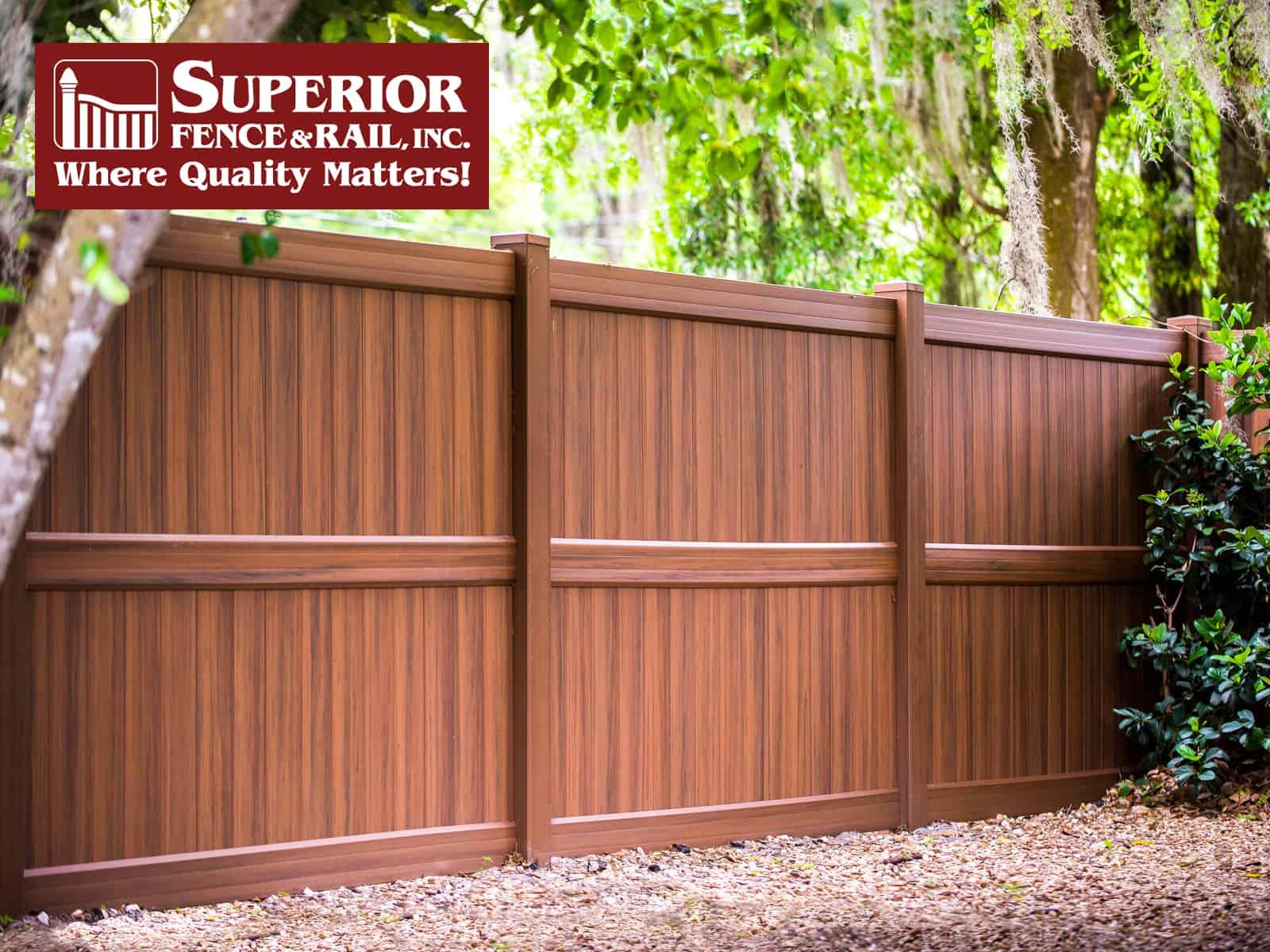 Cedar Springs Fence Company Contractor