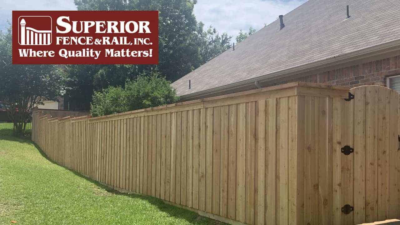 Chambers County fence company